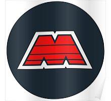 LEGO M-Tron Logo Poster