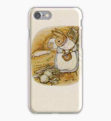 Vintage famous art - Beatrix Potter - Peter Rabbit, 1902 iPhone Case/Skin