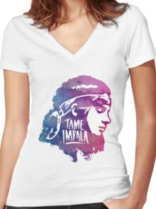 Tame Impala Arkwork Women's Fitted V-Neck T-Shirt
