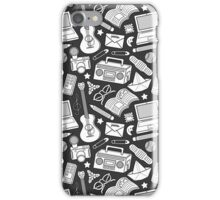 playtime (b&w) 2 iPhone Case/Skin