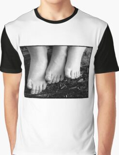 Siblings Toes Up Graphic T-Shirt