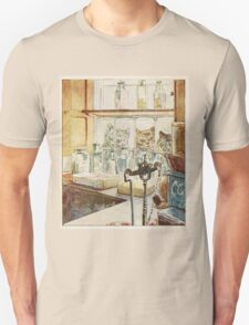 Vintage famous art - Beatrix Potter - Tale Of Ginger And Pickles, 1909 Unisex T-Shirt