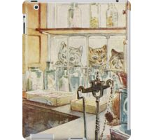 Vintage famous art - Beatrix Potter - Tale Of Ginger And Pickles, 1909 iPad Case/Skin