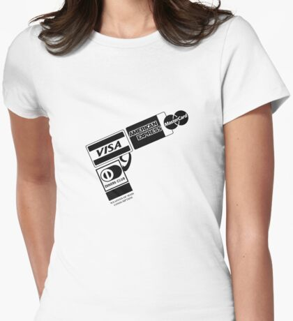 Weapons of Mass Consumption Womens Fitted T-Shirt
