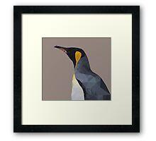 LP Penguin Framed Print