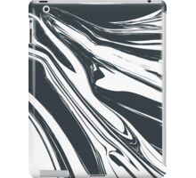Creative background with abstract acrylic painted waves  iPad Case/Skin