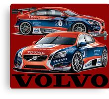 Volvo BBTC Canvas Print