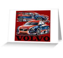 Volvo BBTC Greeting Card