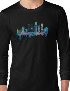 Inky London Skyline Long Sleeve T-Shirt