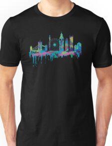 Inky London Skyline Unisex T-Shirt