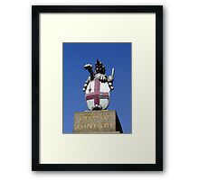 City of London, Coat of Arms, London, England Framed Print
