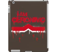 I Am Geronimo iPad Case/Skin