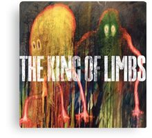 RADIOHEAD THE KING OF LIMBS Canvas Print