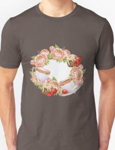 Tea Party Floral Unisex T-Shirt