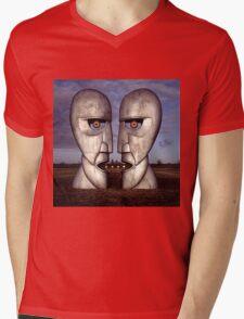 PINK FLOYD ARTWORK Mens V-Neck T-Shirt