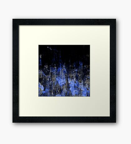 abstract g.16 Framed Print