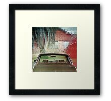ARCAD FIRE Framed Print