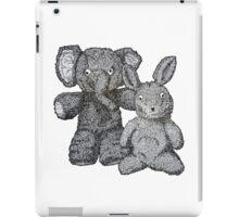 Ellie & Slightly Surprised Rabbit iPad Case/Skin