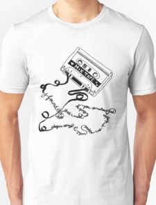 tape deck lyrics Unisex T-Shirt