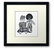 Jemima & Bobby ~ Soul Mates Framed Print