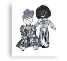 Jemima & Bobby ~ Soul Mates Canvas Print