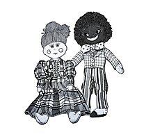 Jemima & Bobby ~ Soul Mates Photographic Print