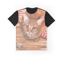 Alfie, fearsome mouse destroyer Graphic T-Shirt