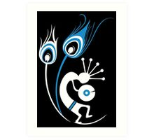 Wasted In Bombay - Blue Logo Promo Wordless Art Print