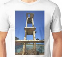Olympic Swimming Pool, empty and broken down, with tower. Seen in Ghana, West Africa Unisex T-Shirt