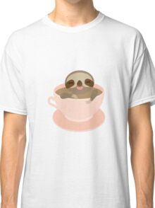 Sloth in a cup 3 Classic T-Shirt