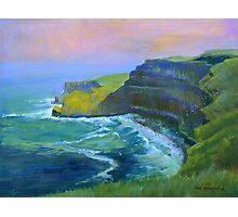 Cliffs of Moher, County Kerry,  by Mary Faux Jackson Photographic Print