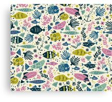Little Fish Canvas Print