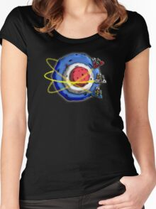 A Space Modyssey: May The Faith Be With You Women's Fitted Scoop T-Shirt