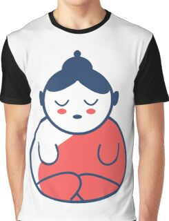 Buddha tattoo, yoga, spirituality. Graphic T-Shirt