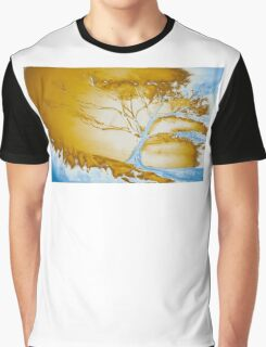 Fire and ice tree Graphic T-Shirt