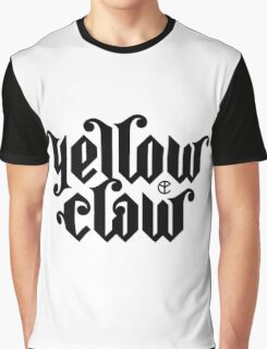yellow claw logo Graphic T-Shirt