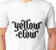 yellow claw logo Unisex T-Shirt