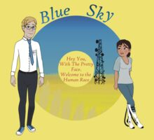 Portal Blue Sky Baby Tee