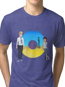 Portal Blue Sky Tri-blend T-Shirt