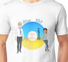 Portal Blue Sky Unisex T-Shirt