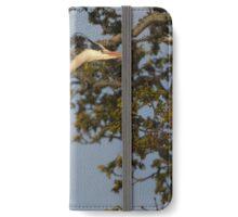 Nest Building Heron iPhone Wallet/Case/Skin