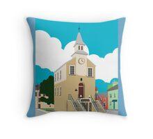 Narberth Clocktower Throw Pillow
