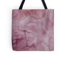 Purple Watercolor Marble Texture Tote Bag