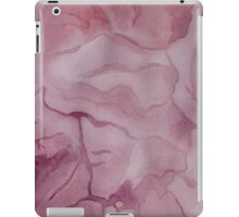Purple Watercolor Marble Texture iPad Case/Skin