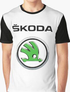 Skoda Logo Graphic T-Shirt