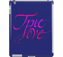True love iPad Case/Skin