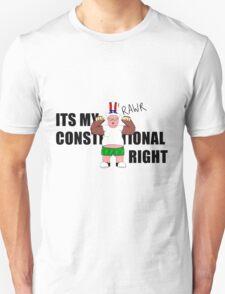 Constitutional Right  Unisex T-Shirt