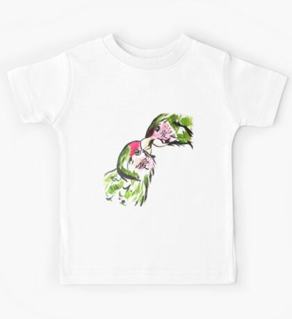 Chinese Love Birds Kids Tee