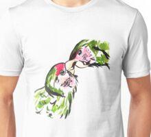 Chinese Love Birds Unisex T-Shirt