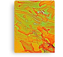 Bloodynature abstract Canvas Print